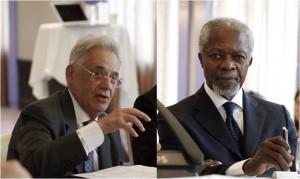Fernando Henrique Cardoso  y Kofi Annan