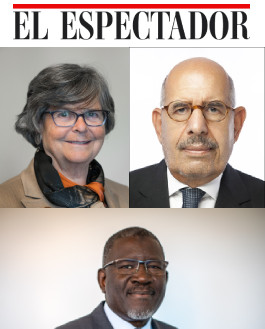 ElBaradei Dreifuss Elhadj El Espectador
