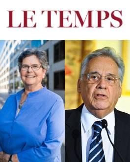 Ruth Dreifuss, Fernando Henrique Cardoso - Le Temps
